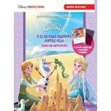 Disney Regatul de gheata - O zi de vara perfecta pentru Olaf - Caiet de activitati. Grupa mijlocie, editura Litera