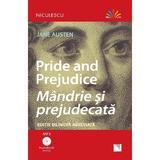 Pride and Prejudice. Mandrie si prejudecata + CD - Jane Austen, editura Niculescu