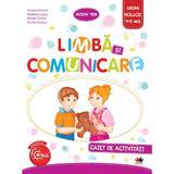 Limba si comunicare - Caiet de activitati - Grupa mijlocie 4-5 ani - Ancuta Antemir, editura Litera