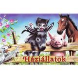 Haziallatok. Animale domestice pliant - Preszter Norbert, editura Roland