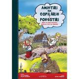 Amintiri din copilarie. Povestiri (Album de benzi desenate. Adaptare dupa Ion Creanga), editura Adenium