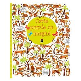 Carte puzzle cu imagini, editura Rao