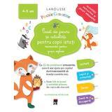 Caiet de jocuri si activitati pentru copii isteti 4-5 ani grupa mijlocie - Larousse, editura Rao