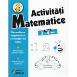Activitati matematice 3-4 ani - Nicoleta Samarescu, editura Tiparg