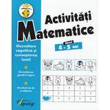 Activitati matematice 4-5 ani - Nicoleta Samarescu, editura Tiparg