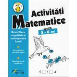 Activitati matematice 5-6 ani - Nicoleta Samarescu, editura Tiparg