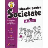 Educatie pentru societate 4-5 ani, editura Tiparg