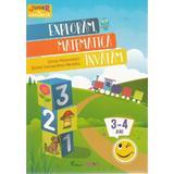 Exploram, matematica invatam 3-4 ani (Stiinte: Matematica, Cunoasterea mediului), editura Trend