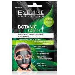 Masca de fata, Eveline Cosmetics, Botanic Expert Purifying & Mattifying, 10 ml de la esteto.ro