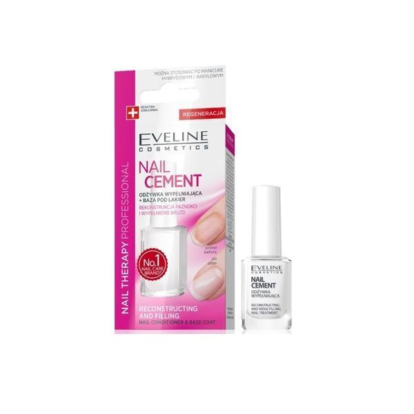 Tratament reparator pentru unghii, Eveline Cosmetics, Cement, 12 ml imagine produs
