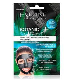 Masca de fata, Eveline Cosmetics, Botanic Expert Purifying & Moisturising, 10 ml de la esteto.ro