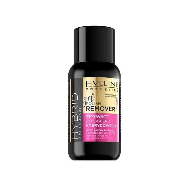 Dizolvant Profesional Pentru Gelul De Unghii, Eveline Cosmetics, Hybrid Professional, 150 ml imagine produs