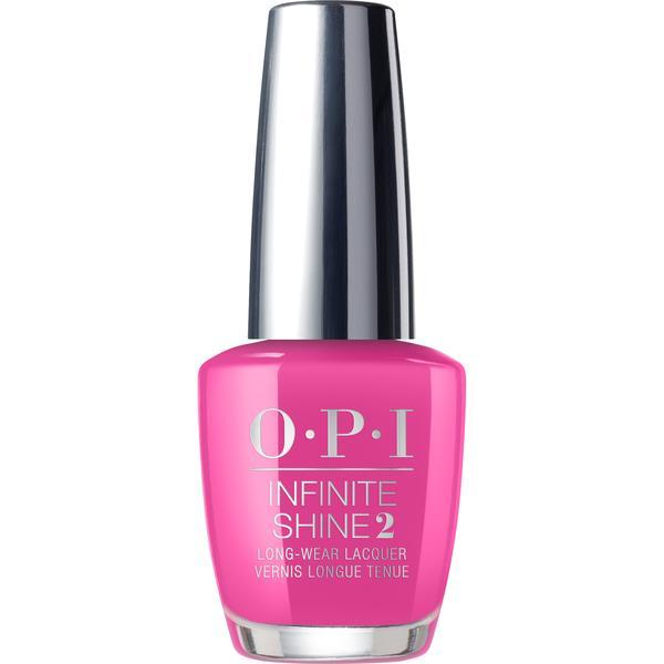 Lac de unghii OPI Infinity Shine 2 Lisbon Collection No TurnBack From Pink Street, 15 ml poza
