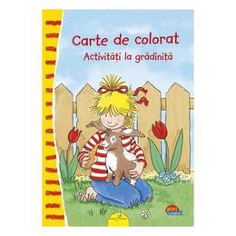 Carte de colorat: Activitati la gradinita - Uli Velte, editura All