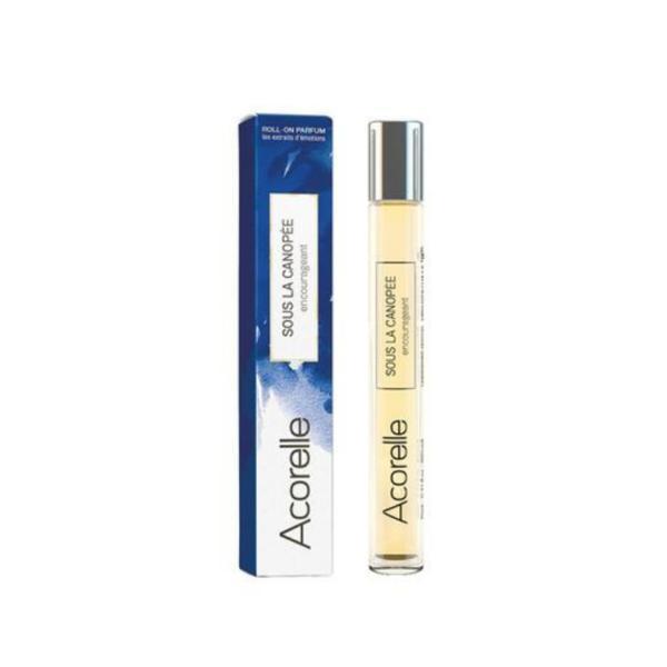 Apa de parfum bio pentru femei Roll-on Sous la canopee 10ml Acorelle imagine produs