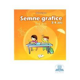 Semne grafice 3-4 ani - Adina Grigore, editura Ars Libri