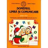 Domeniul limba si comunicare grupa mica - Cristina Beldianu, Estera Tintesan, editura Cartex