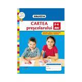 Cartea prescolarului 5-6 ani, Roxana Haiden, editura Cd Press
