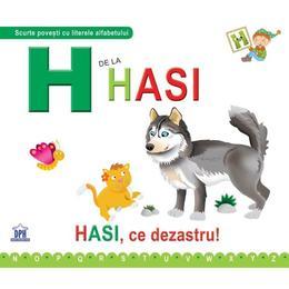 H de la Hasi (cartonat), editura Didactica Publishing House