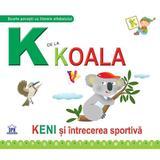 K de la Koala (cartonat), editura Didactica Publishing House