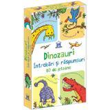 Dinozauri. Intrebari si raspunsuri. 50 de jetoane, editura Didactica Publishing House