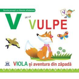V de la vulpe (necartonat), editura Didactica Publishing House