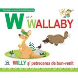W de la Wallaby (necartonat), editura Didactica Publishing House