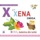 X de la Xenia, omida (necartonat), editura Didactica Publishing House