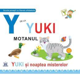 Y de la Yuki, motanul (necartonat), editura Didactica Publishing House