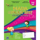 Mapa copilului istet 3-4 ani. Activitati integrate, editura Didactica Publishing House