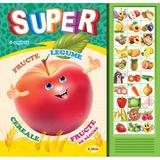 Carte cu sunete: Super fructe, legume... (romana+engleza) - Inesa Tautu, editura Dorinta