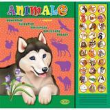 Carte cu sunete: Animale (romana+engleza) - Inesa Tautu, editura Dorinta