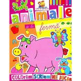 Animale de la Ferma - Coloram, scriem, ne jucam, editura Lizuka Educativ