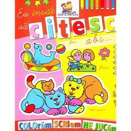 Eu invat sa citesc - Coloram, scriem, ne jucam, editura Lizuka Educativ