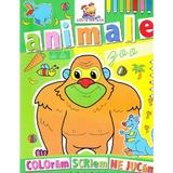 Animale de la Zoo - Coloram, scriem, ne jucam, editura Lizuka Educativ
