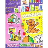 Coloreaza primul tau Alfabet - Coloram, scriem, ne jucam, editura Lizuka Educativ