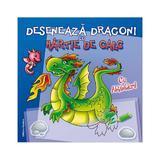 Deseneaza dragoni cu hartie de calc, editura Nomina