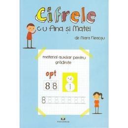 Cifrele cu Ana si Matei - Mara Neacsu, editura Pestalozzi