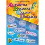 Alfabetul buclucas colorat si dragalas - Florina-Mariana Jugaru, editura Omnibooks Unlimited