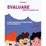 Evaluare pentru clasa 2 - Teste - Mirela Ilie, Marilena Nedelcu, editura Booklet