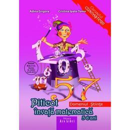 Piticot invata matematica - Grupa Mare 5-6 ani - Adina Grigore, Cristina Ipate-Toma, editura Ars Libri