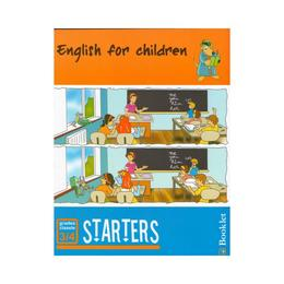 English for children. Starters, editura Booklet