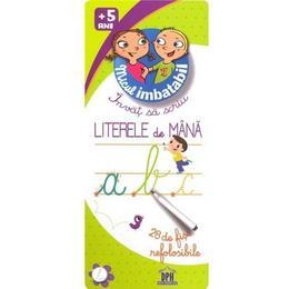 Invat sa scriu literele de mana 5 ani+ Micul Imbatabil, editura Didactica Publishing House
