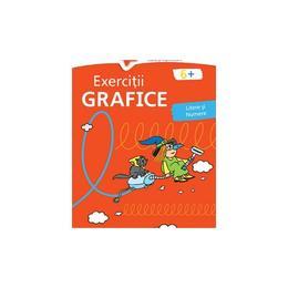 Exercitii grafice 6 ani+ (rosie), editura Nomina