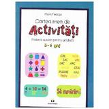 Cartea mea de activitati 5-6 ani - Mara Neacsu, editura Pestalozzi
