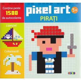 Pixel art - Pirati, editura Prut