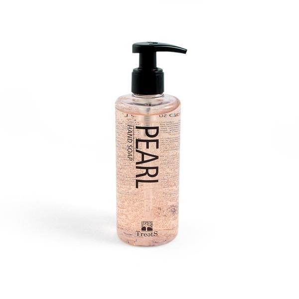 Sapun lichid cu dispenser, cu perle, Treets, 250 ml imagine produs