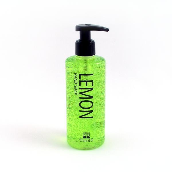 Sapun lichid cu dispenser, cu lamaie verde, Treets, 250 ml imagine produs