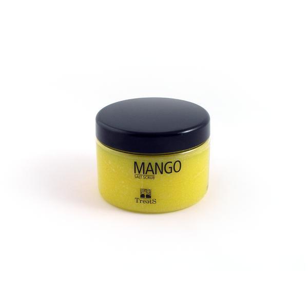 Sare exfolianta corp, cu mango, Treets, 450 ml