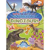 Dinozauri - Carte de activitati cu autocolante, editura Aramis